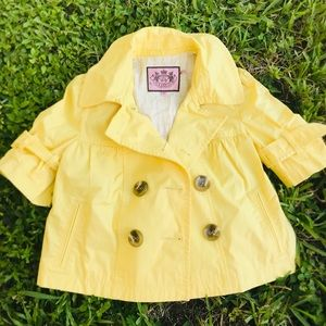 Juicy couture jacket girls size M like new